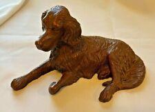 "Vintage Regal Irish Setter Dog Figurine 9.5"" Shell Resin  Fine Detail Red Mill"