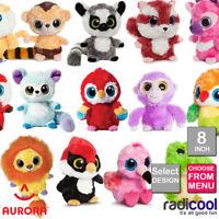 Aurora YOOHOO AND FRIENDS 8 INCH PLUSH Cuddly Soft Toys Childrens Teddy Gifts