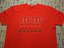 Large- NWOT M & M's Racing  T- Shirt