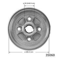 Brake Drum-4-Wheel ABS Rear AUTOZONE/ DURALAST-QUALIS 35060