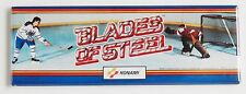 Blades of Steel Marquee FRIDGE MAGNET (1.5 x 4.5 inches) arcade video game