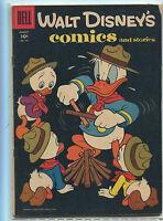 Walt Disney's Comics And Stories #191 VG+        Dell Comics CBX1V