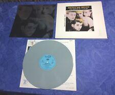 DEPECHE MODE (LP) THE SINGLES 81-85 [GREY VINYL 1985 MUTE +METALIC **GERMAN] EX