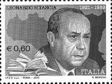 # ITALIA ITALY - 2010 - Leonardo Sciascia - Writer Journalist Poet - Stamp MNH