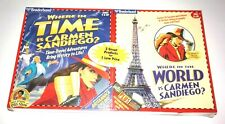 Where in Time is Carmen Sandiego & Where in the World is Carmen Sandiego for PC
