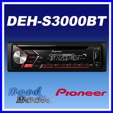 Pioneer DEH-S3000BT CD MP3 Para Auto Bluetooth estéreo de coche USB Aux Ipod Iphone Control