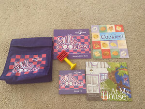 "Kindermusik ""Milk & Cookies""Set: 3 Activity Books,2CD Music,toy, Lunch Bag;NEW!"