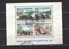 Germany 1971 Special cancellation No Gum Sheet