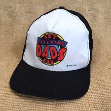 LET SLEEPING DADS LIE Screen Printed Snapback Cap Baseball Hat Lid Cover  c7