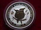 Australia. 2001 1oz - Silver Kookaburra.. Federation Star Privy mark.. BU