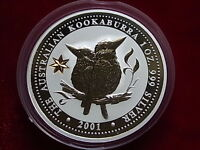 Australia. 2001  1oz - Silver Kookaburra.. Federation Star Privy mark.. BU