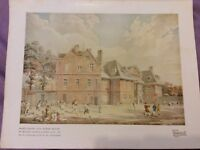 Vintage Book Print - Marylebone Old Manor House - Rooker - 1922