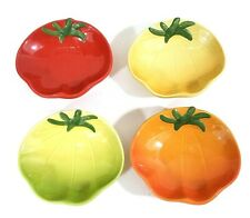 Williams Sonoma Heirloom Tomato Dishes Dipping Appetizer Bowls Set of 4