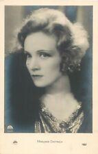 Original MARLENE DIETRICH movie star actress vintage postcard RARE