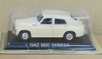 "DIE CAST "" GAZ M20 POBEDA "" LEGENDARY CARS SCALA 1/43"