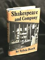 SYLVIA BEACH, Signed note, SHAKESPEARE AND COMPANY, FIRST EDITION, Very Rare