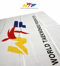 Wtf Flag Korea TaeKwonDo Gym Colors Symbol World Tae Kwon Do Federation e_c