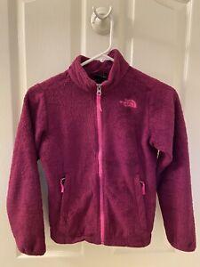 The North Face Girl's Osolita Fleece Jacket Size Medium 10-12