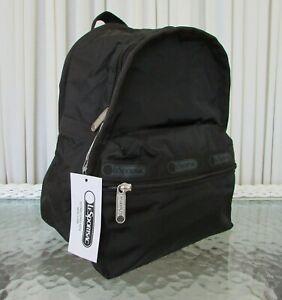 LeSportsac Basic Backpack Mini Bag Purse Classic Black NWT