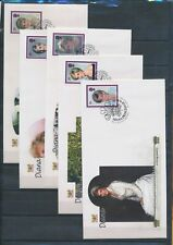 XC42359 Great Britain 2007 royalty princess Diana FDC's used