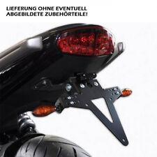 Support de plaque d'immatriculation/heckumbau Kawasaki er-6n/6f, réglable, Adjustable tail tidy