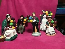 Set Of 5 Balloon People By Royal Doulton