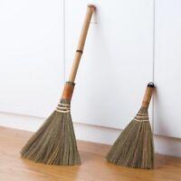Japanese Short Handle Soft Bristle Broom Hardwood Floor Sweeping Brush & Dustpan