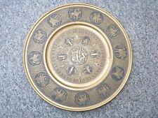 Sündenfall Adam Eva - Louvre Briot Messing Wandteller italy brass plate adam eve