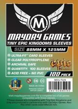 100x Custom Tiny Epic Kingdoms Sleeves (88 X 125 MM) MDG7129