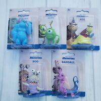 Set 5 Monsters Inc Mini Figures Sulley Boo Mike Randall Roz Disney Pixar