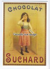 ad0776 - Suchard Chocolat - Swiss Chocolate - Modern Advert Postcard