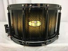 "Pearl Masterworks Artisan Free Floating 14"" Snare Drum/Brown-Black Burst Finish!"