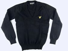 J290 LYLE & SCOTT pure new wool jumper sweater size S, excellent cond!
