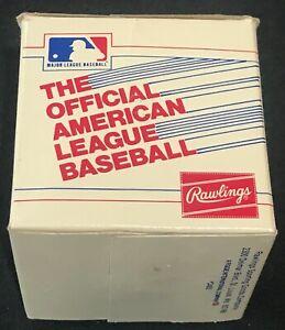 VINTAGE RAWLINGS AMERICAN LEAGUE AL 1985 EARLY BOBBY BROWN ORIGINAL BASEBALL BOX