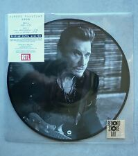 "Johnny Hallyday Maxi vinyle picture disc 25cm Seul ""Disquaire Day 2015"""