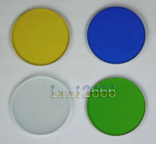 32mm Set of 4 Green Blue Yellow and White Microscopes Filters
