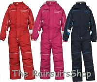 TRESPASS LAGUNA BOY GIRL UNISEX 1 PIECE KIDS ALL IN ONE SKI SNOW SUIT 2 - 12YRS