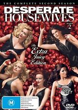 Desperate Housewives : Season 2 (DVD, 2005, 7-Disc Set) VGC Pre-owned (D103)