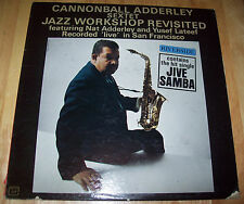 "Cannonball Adderley LIVE Jazz Workshop Revisited RIVERSIDE 12"" LP 1st Pressing"