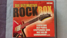DIE ULTIMATIVE ROCK BOX (1960s-90s)  3 CD-Box ~ Steam, Thin Lizzy, Kiss, Cure..