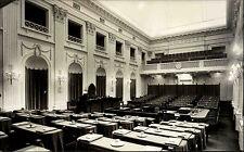 Den Haag Niederlande s/w AK ~1950/60 Vergaderzaal Tweede Kamer Versammlungsraum