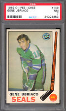 1969 70 OPC O PEE CHEE Hockey #149 Gene Ubriaco PSA 7 N-MINT Golden Seals
