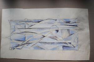 sketch Original Russian Boris Alexandrovich Talberg (1930-1984). 1970