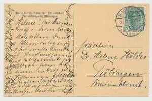Bahnpostbeleg 1913, K. WÜRTT. BAHN-POST Zug 937 nach Tübingen (50330)