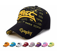 Damen Herren Basecap Baseballmütze Retro Mütze Sport Stickerei Kappe Golfcap