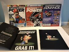 Nintendo Power Magazine Issues from 2001-2008 (Lot of 5) 20th Anniversary Issue