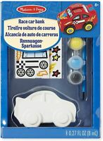 Melissa and Doug Decorate-Your-Own Race Car Bank - (Damaged Packaging) - 18863