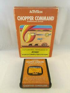 Atari 2600 - Chopper Command International Edition