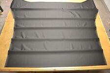1965 65 MOPAR DODGE POLARA 2 DOOR HARDTOP 5 BOW BLACK HEADLINER USA MADE