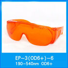 Laser Safety Glasses OD6+190-540nm 488-532nm Wide Spectrum Continuous Absorption